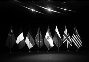 e3/eu+3-iran #irantalksvienna #irantalks #china #france #germany #eu #iran #russia #greatbritain #unitedstates #flaggs #stars #stage #bnw #podium #pressconference...