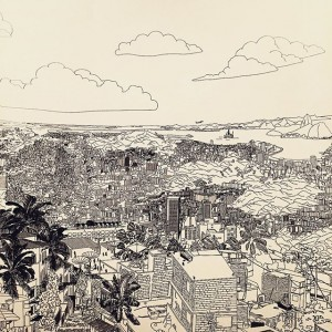 Tactical urbanisms for expanding mega cities _ uneven growth #riodejaineiro MAK - Austrian Museum of Applied Arts...