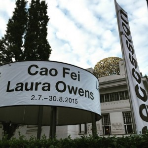 Solo exhibition opening 1st July @secessionvienna #lauraowens #caofei #secession