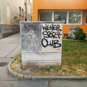 Mei Liabschoft aus Hernois. #wsc #wsk #tag #graffiti #wienersportclub #hernals #ig_vienna #wien #vienna #igersaustria #igersvienna #tradition #soccer...