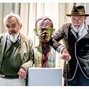 Gigantentreffen in #badenbeiwien - #MarkusLüpertz und #ArnulfRainer im #ArnulfRainerMuseum ! Lest mehr zu der #ausstellung auf www.artandsignature.com...