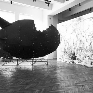 Exhibition View, 2015 #ViennaBiennale 2015: #ideasforchange #MappingBucharest: Art, Memory, and Revolution 1916–2016, MAK Exhibition Hall, Mihuț Boșcu...