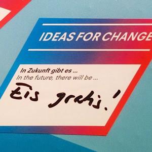 Oh du glorreiche Zukunft, wir wünschten du wärst schon da! #ideasforchange #2051 #hitzewelle #sommer #hitze #eis #summer...