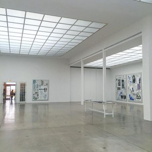 very elegantly installed #lauraowens exhibition at the secession @secessionvienna