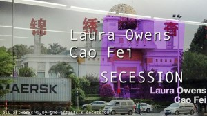 [NEW VID] Laura Owens and Cao Fei at SECESSION #art #Vienna