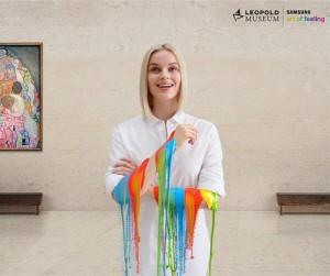 Tomorrow starts the @SamsungAT Art Project at the #LeopoldMuseum #Vienna!