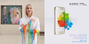 #Samsung #ArtOfFeeling ab sofort im @Leopold_Museum. Erlebe Kunst mit Hilfe deiner Gefühle