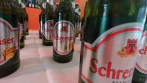 finissage setting with @Schremserbier #Ausstellungsbrücke