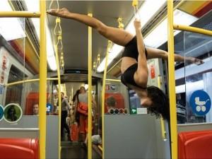 © Johannes Strauss #ubahn #action #underground #dance #acrobat