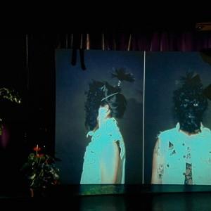 #PaulineBoudry and #RenateLorenz #Loving, Repeating #Toxic #FutureLight #MariaLind #ViennaBiennale #VB15 #Videoinstallation #Video #Plants #Film @kunsthallewien Kunsthalle Wien