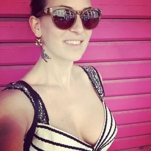 #pink selfietime in #Nice #Nizza 👅