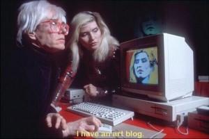 I have an artblog:
