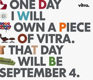 ONE DAY I WILL OWN A PIECE OF VITRA #Vitra #Vienna #VitraSale