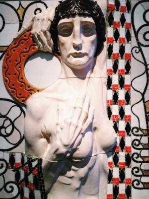 Leopold Forstner, mosaic artist of #wienerwerkstatte at #wak #wien #vienna #viennadaily #secession #igerswien #igersvienna #igersaustria #leopoldforstner #östereich...