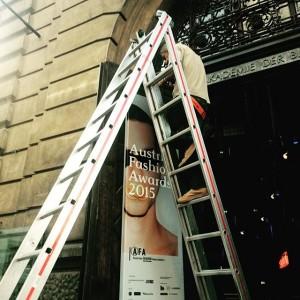 3 hours to go! #austrian_fashion_association #afa2015 #austrianfashionawards #AFAjury Semperdepot