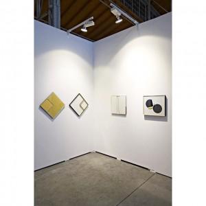 @marcinzarzeka at @galerieandreashuber booth #viennacontemporary 👍