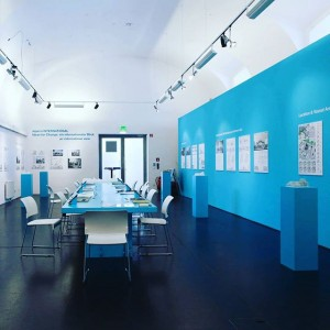 #asperninternational #exhibition #viennabiennale @architekturzentrum_wien #blue