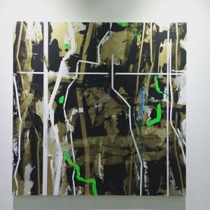 Heimo #heimozobernig #viennacontemporary #abstract Vienna Contemporary