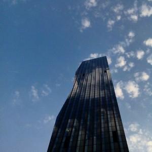 #dctower #wien #hochhaus #neuedonau #donauinsel #donaucity #vienna DC Towers