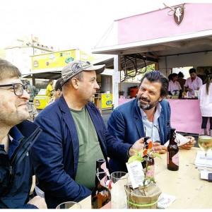 Vorbereitungen für die Diskussionen auf der www.fairfair.at mit @thms_wbr und Martin Rohla #stadtflucht Ottakringer Brauerei