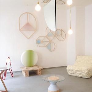 Salon at Ganz Neue Galerie by chmara.rosinke, breadedEscalop & Patrick Rampelotto. 🔝💄🔨🍱 #vienna #vdw2015 #design #viennadesignweek #ganzneuegalerie