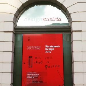 Eventtipp: Nur noch diese Woche ➡ Ausstellung der prämierten Projekte des Staatspreises Design 2015! #designerforum #wien #ausstellung...