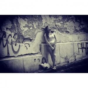 #lookingforsomething #Bratislava #oldcity #girl #blackandwhite #schwarzweiß #ruins #streettonowhere #igersvienna #igersaustria