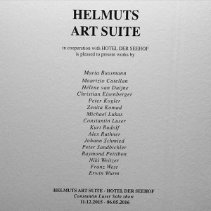 HELMUTS ART SUITE VIENNAFAIR #helmuts #artsuite #viennafair #hotelderseehof #artfair #forartloversandlikemindedsouls