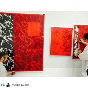 #Repost @marlieswirth with @repostapp. ・・・ #deinstall #packingup #safetyfirst #datadrawings #peterjellitsch @peterjellitsch MAK - Austrian Museum of Applied...