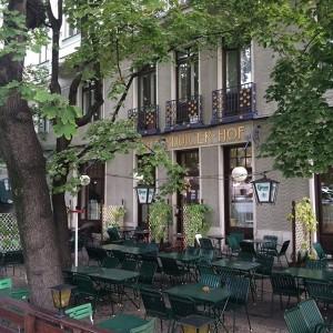 Der Rüdinger im Herbst. Café Rüdigerhof