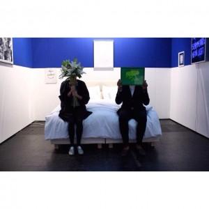 Das Duo hinter Helmut's Art Club... Das Interview lest ihr auf artandsignature.com @helmuts_wien #helmutsartclub #wien #artandsignature #viennafair...