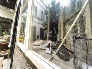 Der Schop #WienerFlaschengeister Galerie Im Ersten, Sonnenfelsgasse 3