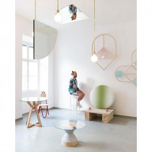 And now for something completely different - here's a new gallery in Vienna dedicated to contemporary design....