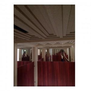 #Bar #Non-lieu by #breadedEscalope at #GanzNeueGalerie. #Hommage an #Loos Bar. #ViennaDesignWeek #vdw2015 Ganz Neue Galerie