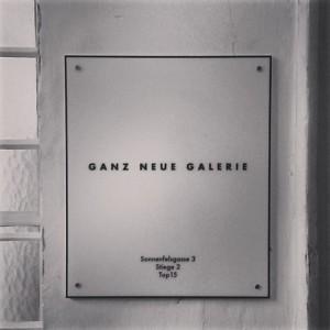 #ganzneuegalerie #vienna #vienna_city #chmararosinke (hier: Ganz Neue Galerie)