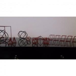 Module und Moleküle #design #retro #vintage #leder #altesportgeräte #alteturngeräte #originale #ledermatte #tschechischeswohndesign #wohnen #artdeco #stahlrohr #bauhaus #141...
