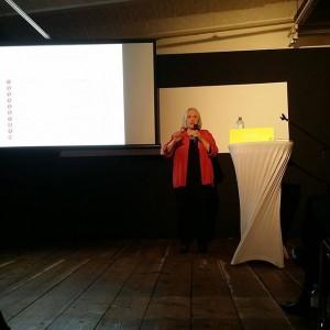 Now things get political... Sask6a Sassen #ViennaArtWeek #CreatingCommonGood KUNST HAUS WIEN. Museum Hundertwasser