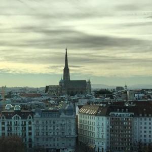 Vienna View #vienna #wien #cathedral #stephansdom #sky #clouds #cloudsporn #igersvienna #austria IBM Österreich