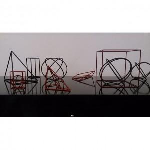 Module und Moleküle aus den 1940er Jahren #design #retro #vintage #leder #altesportgeräte #alteturngeräte #originale #ledermatte #tschechischeswohndesign #wohnen...
