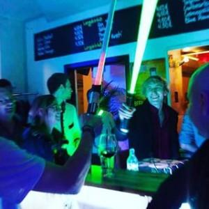 #party #diefeile #wien #vienna #austria #novaragasse #leopoldstadt #1020 #starwars #laser #jedi #fun #jahresfeier #2jahre #drink #livelovelaugh