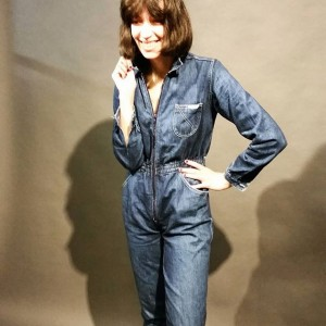 #1970s #jeans #overall #longsleeve #denim #jumpsuit #polyklamott #vintagevienna