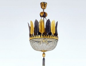 This lamp by Dagobert Peche from 1920 is part of the upcoming auction at the Viennese auction...