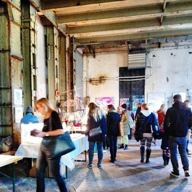 Habt ihr schon beim #feschmarkt vorbeigeschaut? 😏 #rainysunday #ottakring #shopping #wien #vienna #vie #market #ottakringerbrauerei #design #designmarket...