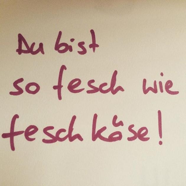 Danke für den Gästebucheintrag! #fesch #feschmarkt #feschmarktwien #feschgaestebuch #feschkaese