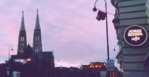 #Autumn #sky #votivkirche #jonasreindlcoffee #cafejonasreindl #jonasreindl #igersvienna #wien #vienna #schottentor #1090 #währing #vscocam #vscocoffee #vscovienna #vscogood #vscophile...