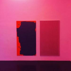 Great show of Nick Oberthaler at Emanuel Layr in #vienna #viennaartweek #nickoberthaler #emanuellayrgallery Galerie Emanuel Layr