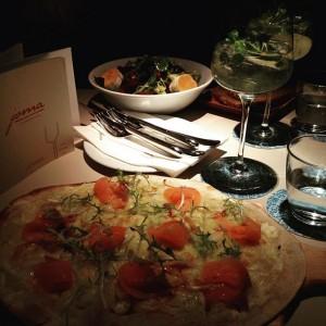 Pre-Birthday Dinner #dinner #lovedailydose #afterwork #hugotime #prechristmasdinner JOMA Café Brasserie Bar