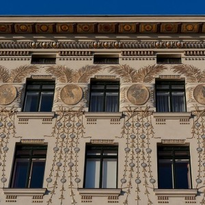Facades of Vienna - Art Nouveau Linke Wienzeile