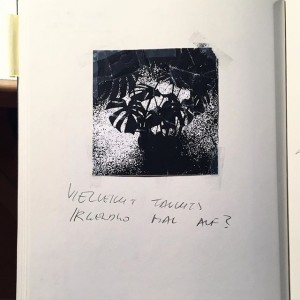 vielleicht auch nicht #sketchbook 2014