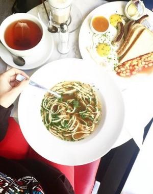 dear #fritattensuppe, i missed you so much! 💕 #igersvienna #igersaustria #foodstagram Cafe Europa